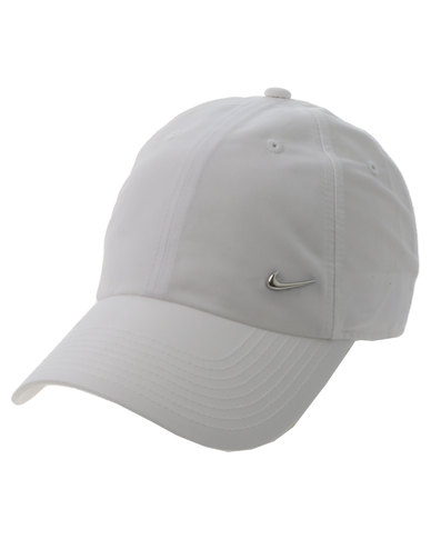 Nike Metal Swoosh H86 Cap White  493f82db494