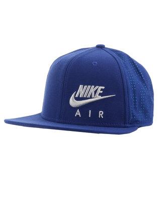 b9d568b6 Nike Air Hybrid True Cap Blue