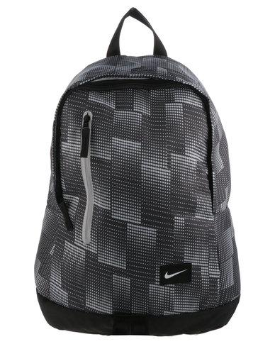 all white nike backpack