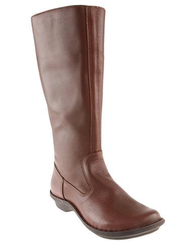 edbdcbd8 Tsonga Vutha Classic Leather Boot Brown | Zando