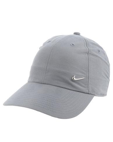 f158e83425b Nike Metal Swoosh H86 Cap Grey