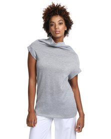 Larisa MODA Shift Top Grey