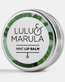 Lulu and Marula Mint Lip Balm 15ml