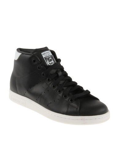 buy online d9c76 28529 adidas Stan Smith Mid Shoes Black