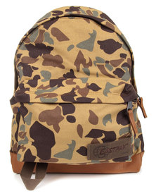 Eastpak Camo 52 Padded Pak'r Backpack Brown