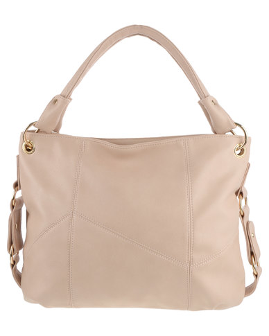 Marie Claire Asymetric Seam Bag Pink