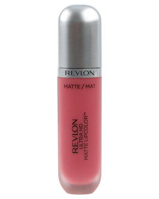 Revlon Ultra HD Velvet Matte Lipcolor Devotion Nude Rose