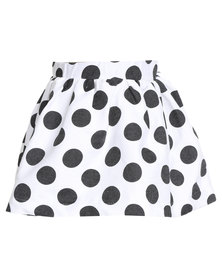 Miss Molly Nadine Skirt Black/White