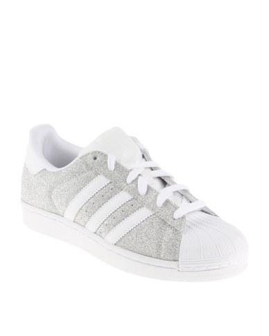 adidas Superstar Sparkle Sneakers Grey  856dc765c