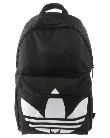 adidas Classic Trefoil Backpack Black  13c581e1cf0de