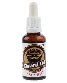 Beard Boys Beard Oil Oak & Musk 30ml
