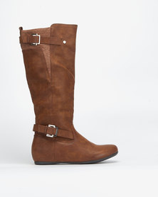 Call It Spring Colosi Boots Brown