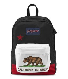 JanSport Superbreak New California Republic Backpack Red