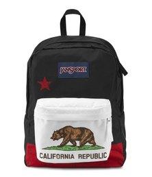 JanSport Superbreak New California Republic Backpack Red