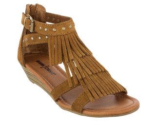 Minnetonka Monaco Sandals Dusty Brown