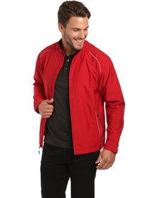 Cutter & Buck Beacon Waterproof Jacket Cardinal Red