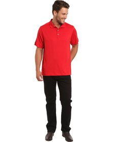 Cutter & Buck Glendale Polo Tee Red