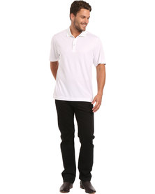 Cutter & Buck Glendale Polo Tee White
