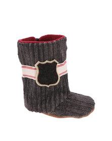 Myang Cord Boot Charcoal