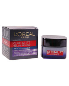 L'Oreal Revitalift Filler Renew Anti-Ageing Night Replumping Care
