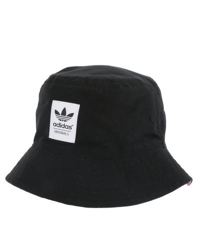 534cdcadd28 adidas Reversible Soccer Bucket Hat Black