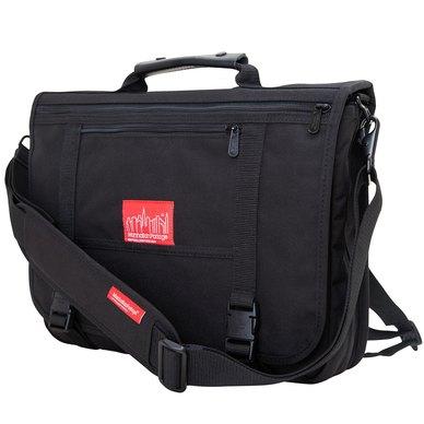 Manhattan Portage The Wallstreeter Backzipper Bag Black