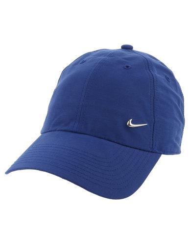 Nike Metal Swoosh Cap Royal Blue  97e3697b164