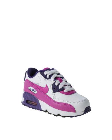 buy online c7820 256fb Nike Air Max 90 LTR (PS) White   Zando