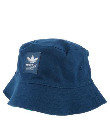 720da90edda00b adidas Reversible Tennis Bucket Hat Blue | Zando