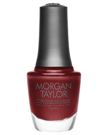 Morgan Taylor What's Your Poinsettia Medium Red Pearl