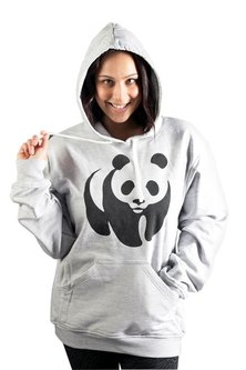WWF Panda Hoodie Grey