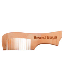 Beard Boys Beard Comb Handle Brown