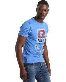 Krag Drag™ - The Strong One™ Q20 T-Shirt Blue