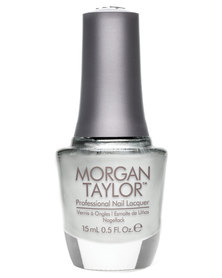 Morgan Taylor Professional Nail Lacquer Could Have Foiled Me Silver