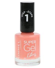 Rimmel Super Gel Nail Polish 031 Orange