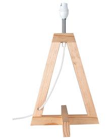 Illumina Achille Medium Wooden Lamp Base