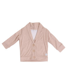Candy Floss Clouds Cardigan Dusty Pink