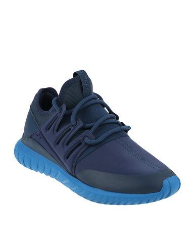 pretty nice aface 25c4e adidas Tubular Radial Sneaker Blue   Zando