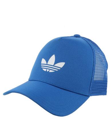 adidas Trefoil Trucker Blue  6d99d1a2a15