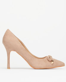 Utopia Bow Trim Pointy Courts Neutrals