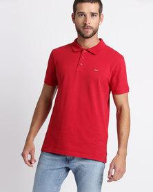 Levi's® Housemark Polo Crimson