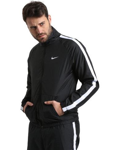 7b3ec2b5b1dc Nike Season Woven Track Black