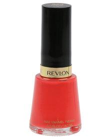 Revlon Nail Enamel Orange Flip