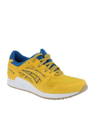 huge discount fc339 4e1eb Asics Tiger Gel-Lyte III Tai-Chi Yellow
