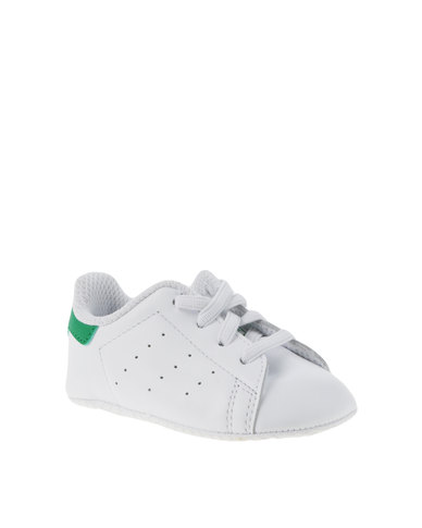 1ebcb1f3234 adidas Stan Smith Crib Shoe White