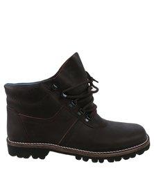 John Buck Jock Boots Dark Brown