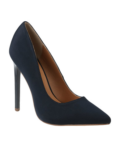 ae4f8f9f4f0 Madison Chantelle High Heel Navy Sateen