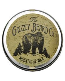 Grizzly Beard Moustache Wax