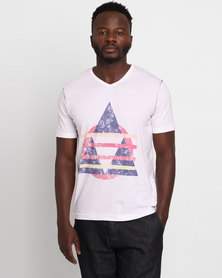 Utopia New Age Print Tee White