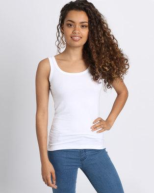 Utopia Basic Vest White